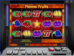 Игровое поле Flame Fruits