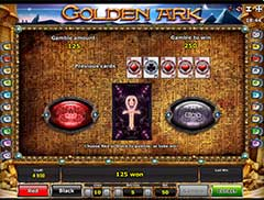 Бонус игра автомата Golden Ark