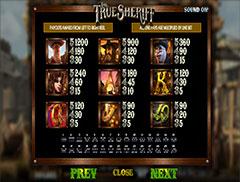 Бесплатный игровой автомат The True Sheriff