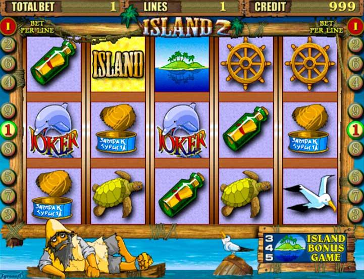 Игровой автомат Остров 2 (Island 2) играть бесплатно онлайн