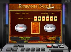 Pharaohs Gold 2 deluxe риск-игра